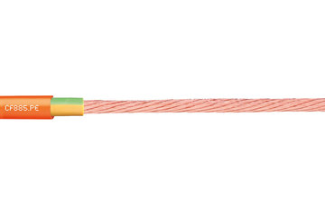 chainflex® motor cable CF885-PE, lead screw cable/single core