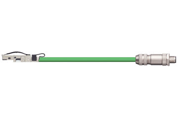 readycable® bus cable similar to B&R iX67CA0E41.xxxx, base cable TPE 12.5 x d