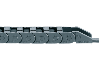easy chain® Series E045, energy chain, to be filled at the outer radius