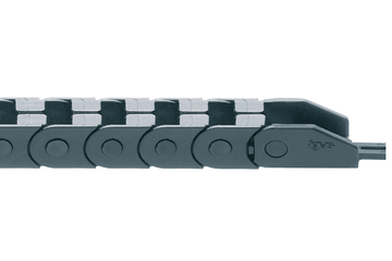 easy chain® Series E065.4, energy chain, to be filled at the outer radius