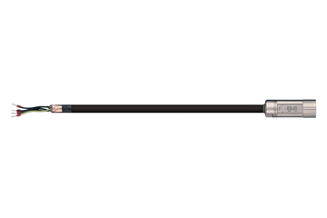 readycable® motor cable similar to Jetter Cable No. 26.1, base cable, TPE 7.5 x d