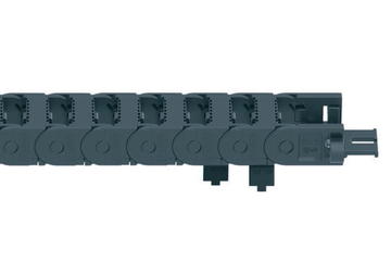 E2 micro Series E2i.10 energy chain, openable along the inner radius