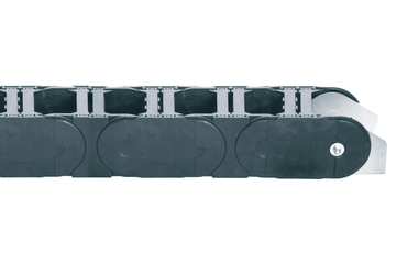 Series 800, energy chain with crossbars every link, robust version, openable from both sides
