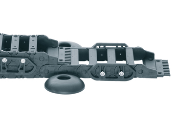 Series 2500.AG Classic, two-piece energy chain, openable along the inner radius