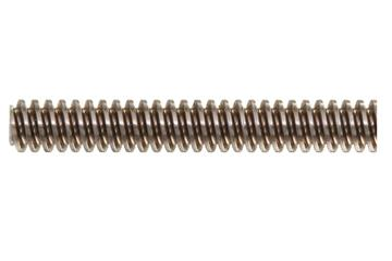 drylin® trapezoidal lead screw, right-handed thread, stainless steel 1.4301 (1015 carbon)