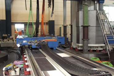 Large machining centers